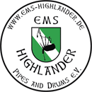 Ems Highlander Pipes & Drums e.V. Logo